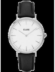 Chic Time | Montre modèle femme - Cluse - Montre Femme Cluse La Bohème CL18208 Noir  - Prix : 73,90 €