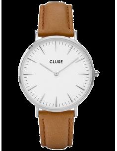 Chic Time | Montre Cluse La Bohème CL18211 Bracelet en cuir marron  | Prix : 58,47€