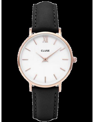 Chic Time | Montre Femme Cluse Minuit CL30003  | Prix : 58,47€