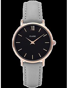 Chic Time | Montre modèle femme - Cluse - Montre Femme Cluse Minuit CL30018  - Prix : 74,00 €