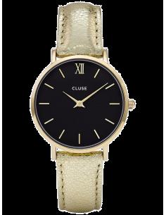 Chic Time   Montre Femme Cluse Minuit CL30037 Or    Prix : 76,46€