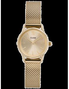 Chic Time | Montre Femme Cluse La Vedette CL50003 Bracelet acier or  | Prix : 98,95€