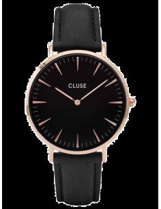 Chic Time   Montre Cluse La Bohème CL18001 Rose Gold Black/Black    Prix : 89,95€