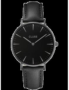 Chic Time | Montre Cluse La Bohème CL18501 Bracelet en cuir noir  | Prix : 62,97€
