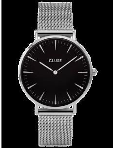 Montre Femme Cluse La Bohème CL18106 Mesh Silver/Black