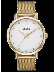 Chic Time | Montre Femme Cluse Pavane CL18302 Bracelet en maille milanaise doré  | Prix : 64,97€