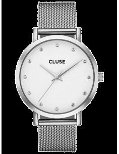 Chic Time   Montre Femme Cluse Pavane CL18301 Bracelet acier maille milanaise    Prix : 89,95€