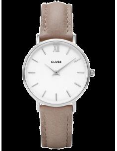 Chic Time | Montre Cluse Minuit CL30044 Bracelet en cuir  | Prix : 64,35€