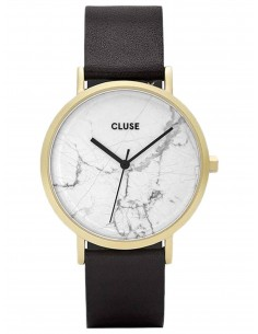 Chic Time | Montre Cluse La Roche CL40003 Gold White Marble/Black  | Prix : 119,25 €