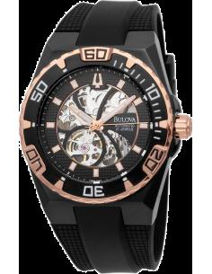 Chic Time   Montre Homme Bulova Marine Star Automatique Mécanique Hand-Wind 98A109    Prix : 437,50€