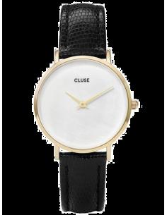Chic Time | Montre Femme Cluse Minuit CL30048 Noir fond nacre  | Prix : 58,47€