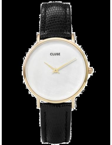 Chic Time   Montre Femme Cluse Minuit CL30048 Noir fond nacre    Prix : 58,47€