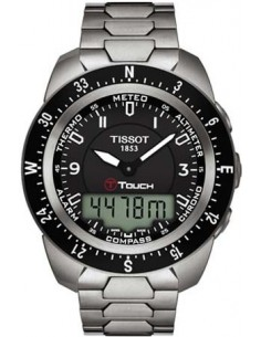 Chic Time   Montre Homme Tissot T-Touch Expert T0134204405700    Prix : 873,00€