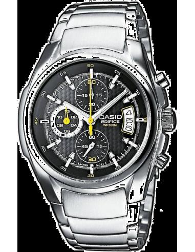 Chic Time | Montre Homme Casio Edifice EF-512D-1AVEF Argent  | Prix : 85,00€