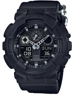 Chic Time | Montre Homme Casio G-Shock GA-100BBN-1A  | Prix : 149,00 €
