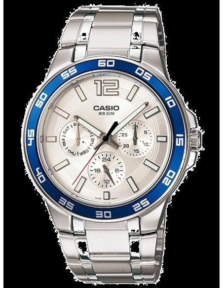 Chic Time   Montre Homme Casio Enticer MTP-1300D-7A2VDF    Prix : 69,00€