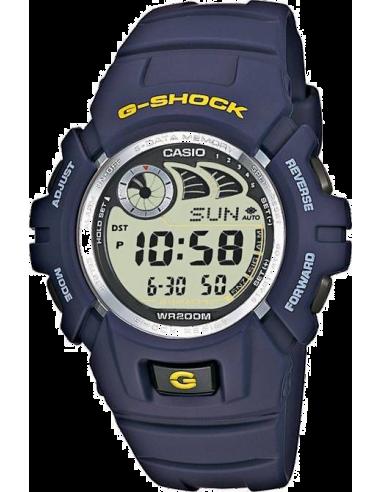Chic Time | Montre Homme Casio G-Shock G-2900F-2VER Bleu  | Prix : 52,00€