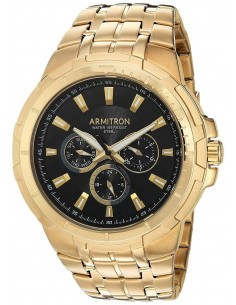 Chic Time | Montre Homme Armitron 20/5144BKGP Or  | Prix : 79,00€