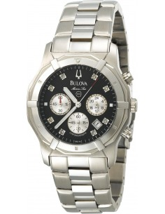 Chic Time | Montre Homme Bulova Marine Star Chronographe Diamand 96D16  | Prix : 468,75€