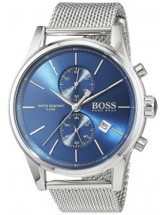 Chic Time | Montre Homme Hugo Boss Jet Mesh 1513441 Argent  | Prix : 239,20€