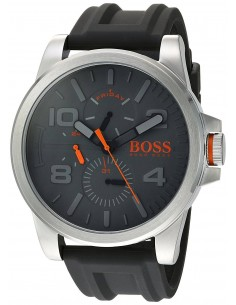Chic Time   Montre Homme Hugo Boss Boss Orange 1550007 Noir    Prix : 160,65€