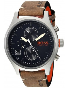 Chic Time   Montre Homme Hugo Boss Amsterdam 1550021 Brun    Prix : 211,65€