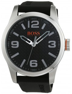 Chic Time | Montre Homme Hugo Boss Boss Orange 1513350 Noir  | Prix : 149,00 €