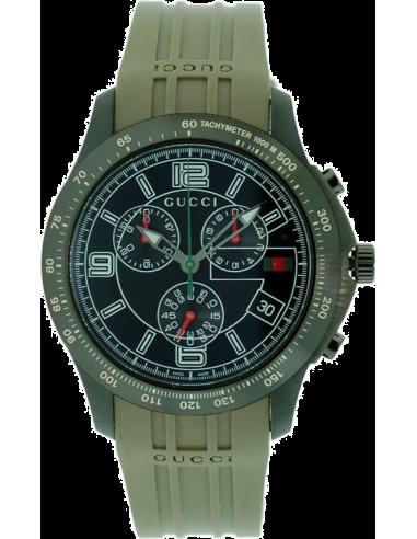 Chic Time | Montre Homme Gucci Rubber Chronograph YA126207  | Prix : 779,10€