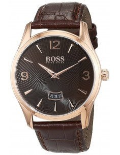 Chic Time | Montre Homme Hugo Boss Commander 1513426 Marron  | Prix : 211,65 €