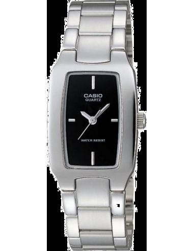Chic Time | Montre Femme Casio LTP-1165A-1CDF Argent  | Prix : 59,00€