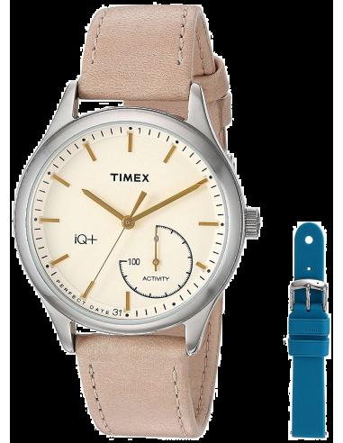 Chic Time   Montre Connectée Femme Timex Smartwatch TWG013500 IQ+ Move Activity    Prix : 206,10€