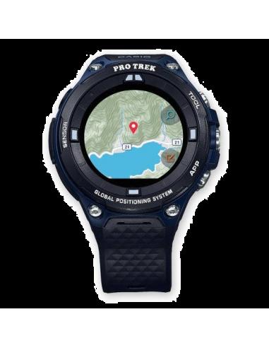 Chic Time   Montre Connectée Casio Protrek GPS Smartwatch WSD-F20A-BUAAU    Prix : 519,00€