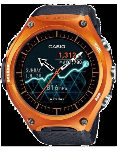 Chic Time | Montre Connectée Casio Protrek GPS Smartwatch WSD-F10RG  | Prix : 399,00€