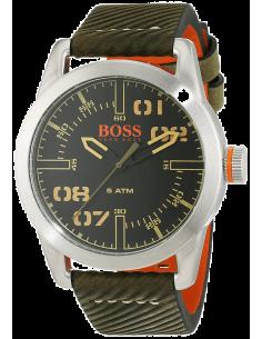 Chic Time | Montre Homme Hugo Boss Boss Orange Oslo 1513415 Vert Militaire  | Prix : 84,15€