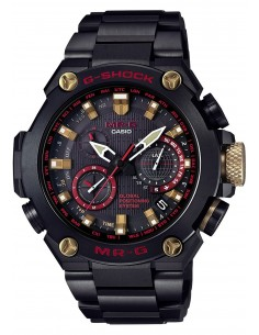 Chic Time | Montre Casio G-Shock Atomic Solar Hybrid MRG-G1000B-1A4DR  | Prix : 6,600.00