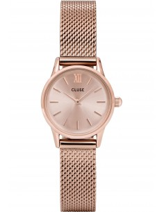 Chic Time | Montre Femme Cluse La Vedette Mesh CL50002 Full Rose Gold  | Prix : 82,46 €
