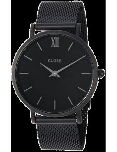 Montre Femme Cluse Minuit CL30011 Mesh Full Black CL30011
