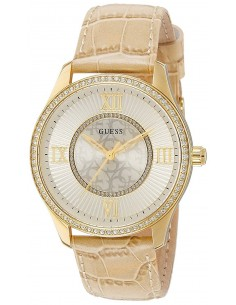 Chic Time | Montre Femme Guess Broadway W0768L2 Beige  | Prix : 269,00 €