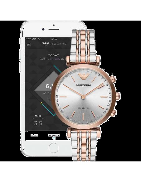 Chic Time   Montre Femme Emporio Armani Hybrid Smartwatch ART3019    Prix : 359,20€