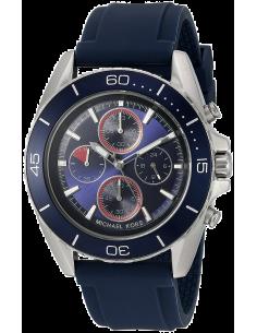 Chic Time | Montre Homme Michael Kors JetMaster MK8486 Bleu  | Prix : 159,90€