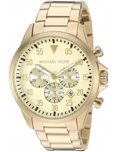 Chic Time | Montre Homme Michael Kors Gage MK8491 Or  | Prix : 169,00€