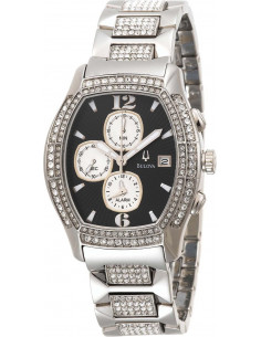 Chic Time | Montre Homme Bulova Cristal Chronographe 96B000  | Prix : 360,25€