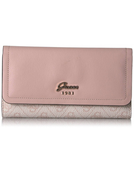 Chic Time | Portefeuille Guess Jacqui Rose  | Prix : 89,00€