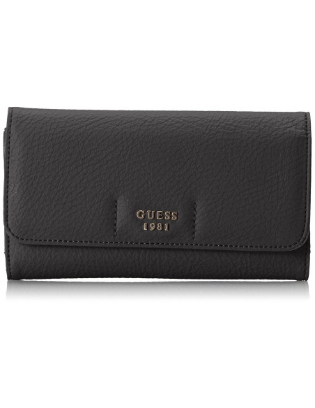Chic Time | Portefeuille Prise Guess Trudy Noir  | Prix : 69,00 €
