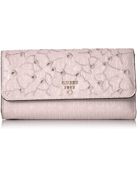 Chic Time | Portefeuille Guess Jayne Rose  | Prix : 89,00€