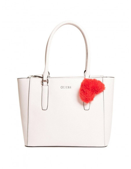 Chic Time | Sac à Main Guess Tinley Pom Heart Charm  | Prix : 189,00 €