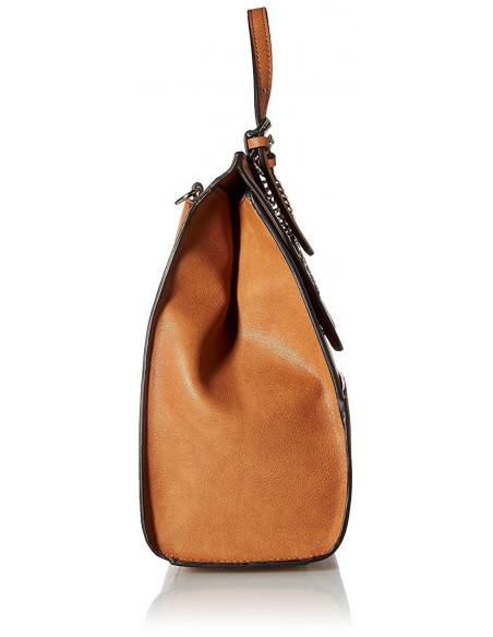 Chic Time | Sac à Main Guess Huntley Pebble Caramel  | Prix : 209,00€