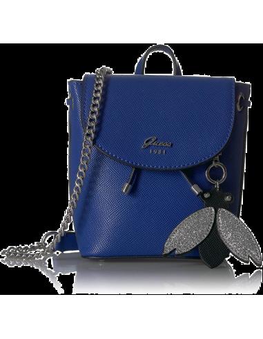 Chic Time | Sac Bandoulière Guess Varsity Pop-Pin up Blue  | Prix : 129,00€