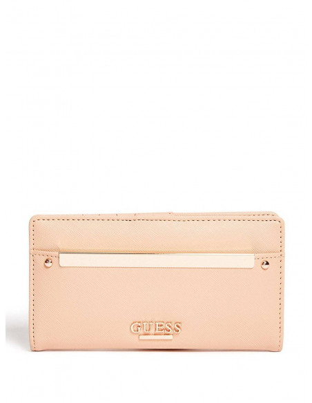 Chic Time | Pochette Guess Annalisa Slim Rose  | Prix : 69,00€