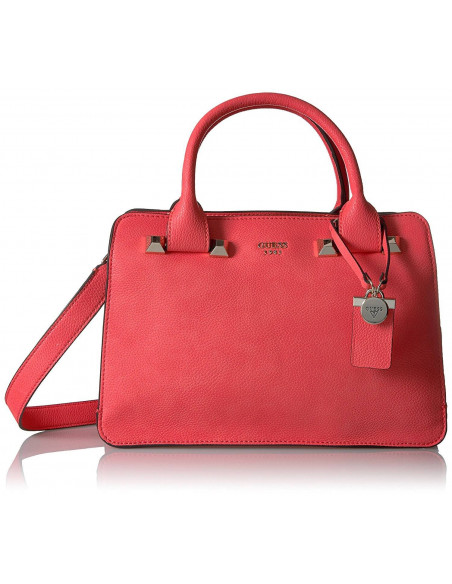 Chic Time | Sac à main Guess Talan Girlfriend Rouge  | Prix : 189,00 €